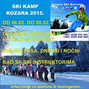 ski kamp kozara 2015