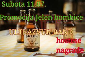 jelen pivo bombica-promocija
