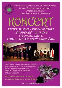 udruzenje slovenaca lipa-koncert 27februar-plakat