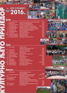 kulturno ljeto- prijedor 2016