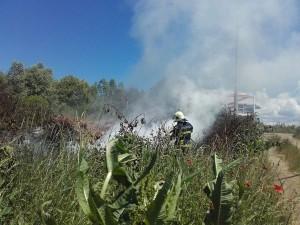 vatrogasci prijedor-pozar-deponija guma (3)