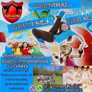 gong-univerzalna skola borilackih sportova